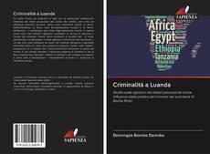Bookcover of Criminalità a Luanda