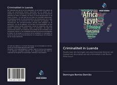 Capa do livro de Criminaliteit in Luanda