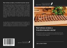 Portada del libro de Narrativas orales y transformación social