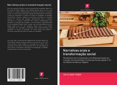 Buchcover von Narrativas orais e transformação social