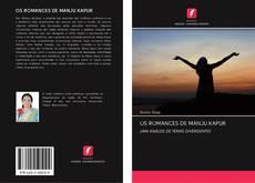 OS ROMANCES DE MANJU KAPUR kitap kapağı