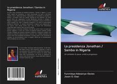 Buchcover von La presidenza Jonathan / Sambo in Nigeria