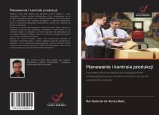 Bookcover of Planowanie i kontrola produkcji