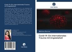 Bookcover of Covid-19: Ein internationales Trauma mit Ungewissheit