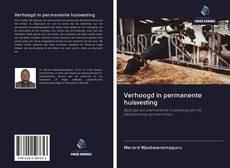 Bookcover of Verhoogd in permanente huisvesting