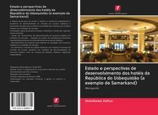 Portada del libro de Estado e perspectivas de desenvolvimento dos hotéis da República do Usbequistão (a exemplo de Samarkand)