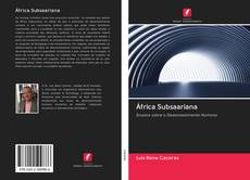 Bookcover of África Subsaariana