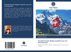 Buchcover von Forstwirtschaft, Regierungsführung und Klimawandel