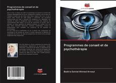 Portada del libro de Programmes de conseil et de psychothérapie