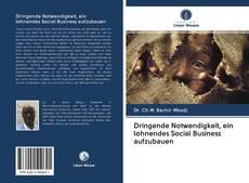 Couverture de Dringende Notwendigkeit, ein lohnendes Social Business aufzubauen