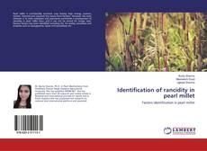 Buchcover von Identification of rancidity in pearl millet