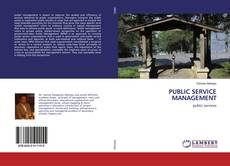 Couverture de PUBLIC SERVICE MANAGEMENT