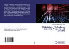 Metadata in File Systems: Exploring Problems and Solutions kitap kapağı