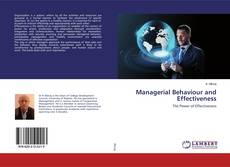 Bookcover of Managerial Behaviour and Effectiveness