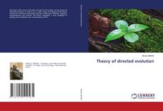 Bookcover of Theory of directed evolution