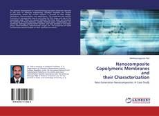 Capa do livro de Nanocomposite Copolymeric Membranes and their Characterization