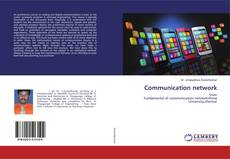 Buchcover von Communication network