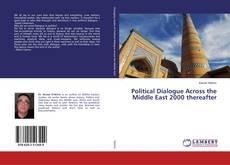 Portada del libro de Political Dialogue Across the Middle East 2000 thereafter