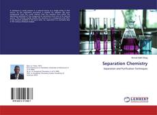 Bookcover of Separation Chemistry