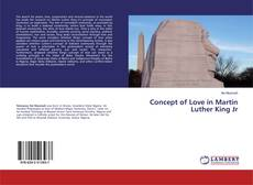 Bookcover of Concept of Love in Martin Luther King Jr
