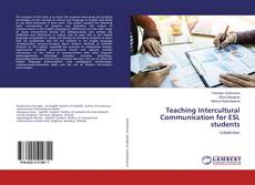 Bookcover of Teaching Intercultural Communication for ESL students