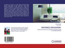Bookcover of DISTANCE EDUCATION:
