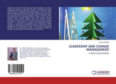 Couverture de LEADERSHIP AND CHANGE MANAGEMENT