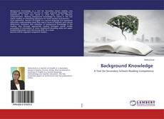 Bookcover of Background Knowledge