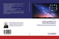 Bookcover of Acute problems of theoretical physics