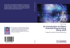Bookcover of An Introduction to Object Oriented Programming Using JAVA