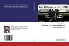 Обложка Income Tax Law in Pakistan