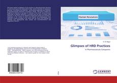 Copertina di Glimpses of HRD Practices