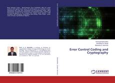 Couverture de Error Control Coding and Cryptography