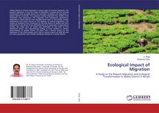 Ecological Impact of Migration kitap kapağı