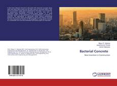 Bookcover of Bacterial Concrete
