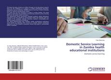 Couverture de Domestic Service Learning in Zambia health educational institutions
