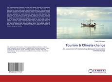 Portada del libro de Tourism & Climate change