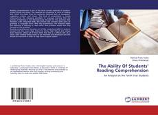 Bookcover of The Ability Of Students' Reading Comprehension