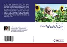 Bookcover of Social Realism in the Plays of Mahesh Dattani