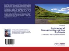Environmental Management Accounting Disclosures kitap kapağı