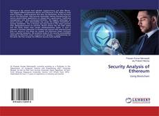 Bookcover of Security Analysis of Ethereum