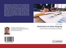 Buchcover von Awareness on data integrity