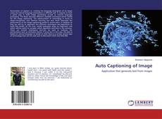 Bookcover of Auto Captioning of Image