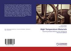 Bookcover of High Temperature Materials
