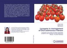 Portada del libro de Lycopene in management of Oral Submucous Fibrosis