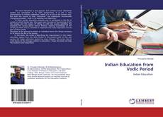 Buchcover von Indian Education from Vedic Period