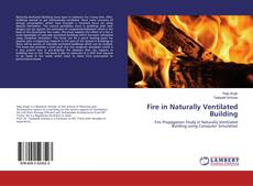 Buchcover von Fire in Naturally Ventilated Building