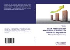 Capa do livro de Least Absolute Error Estimation of Linear and Nonlinear Regression