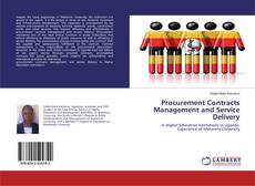 Обложка Procurement Contracts Management and Service Delivery