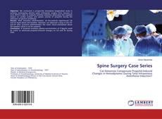 Couverture de Spine Surgery Case Series